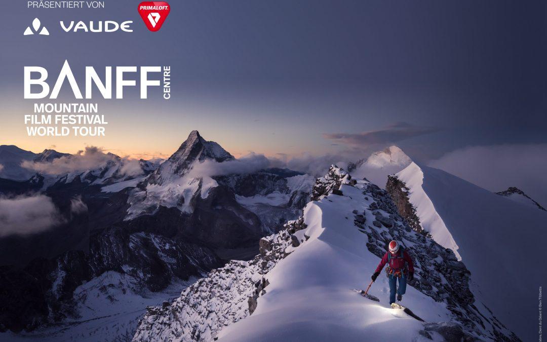 BANFF Mountain Film Festival: Tickets zu gewinnen!